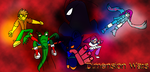 Dimension Wars- Hero ThrowDown by Thesimpleartist4