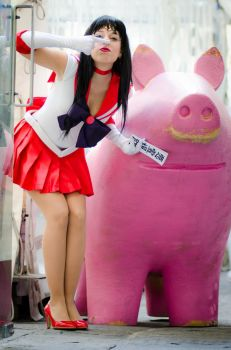 sailor pig XD by LadyGiselle