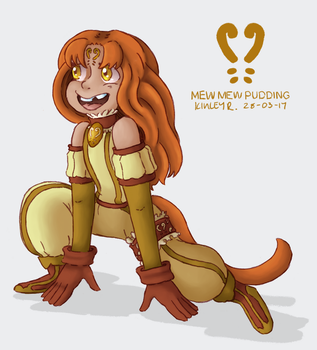 Tokyo Mew Mew Redesign Project: Pudding by AbyssinChaos