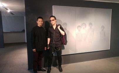 Michael Andrew Law Meets with Painter Zhu Yiyong by michaelandrewlaw