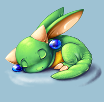 Sleeping Draconie by Bestary