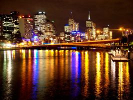 Melbourne At Night 4 by moviegirl78