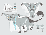 Finch Reference - Jan 2018 by Finchwing