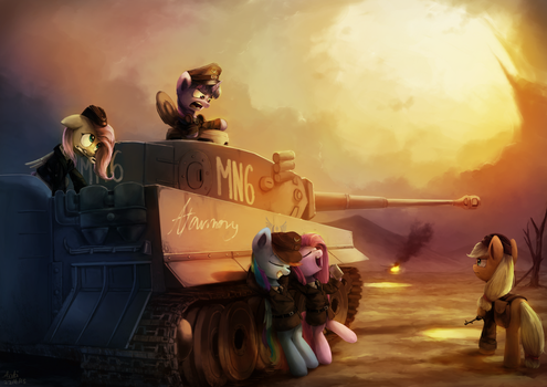 Taking Back Lost Ground by AnticularPony