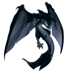 Pathfinder Monster (Tsunami Dragon) by EmperorNeuro