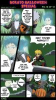 Boruto Halloween Special Pg.10 of 10 End by BotanofSpiritWorld