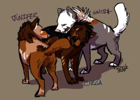 Rue Pups - Roughly Done by fazzle