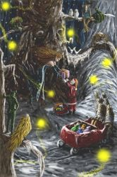 Christmas Night by whiteguardian