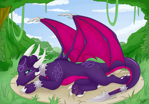 Cynder by Blackkaries