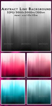 Abstract Line Background by feketeandreimihai