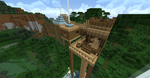 Minecraft: Tree House With New Texture Pack by SleekHusky