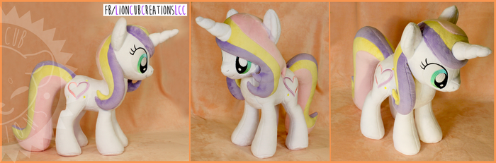 + Plush Commission: Pony Unicorn OC + by LionCubCreations