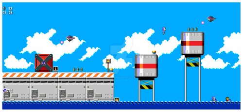 Metal harbor Zone 8 Bit Mockup v1.1 by funkyjeremi