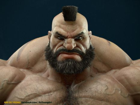 Zangief by Kimsuyeong81