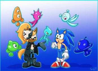 Sonic IDW: Sonic And Whisper by TheDarkShadow1990