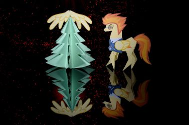 Christmas gift: Winged tree! (MLP) by Pandora51