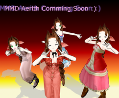 MMD Aerith by Pucaroo16