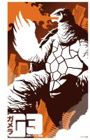 gamera 3 commission by strongstuff