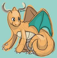 Dragonite by skeletall
