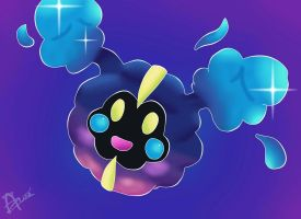 Pokemon Sun and Moon - Cosmog by NitrusBrio68