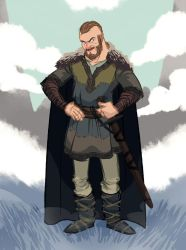 Ragnar Lothbrok by cleverdisguise