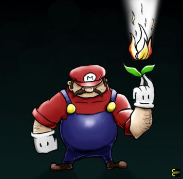 Super Mario by CoopahCraft