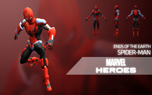 Marvel Heroes - Spider-Man (Ends of the Earth) by Citrus07