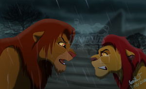 Simba's Pride: Before the battle by Irete