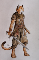 Character Concept - Areksim by 0laffson