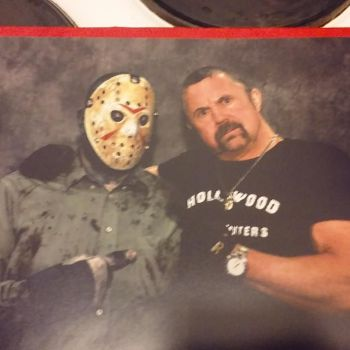 Me with Kane Hodder by EvilIron