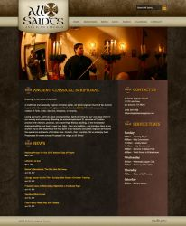 Anglican Church Website by ipholio