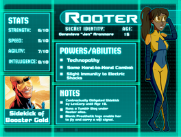 DC: Rooter Bio by ClassicalStars