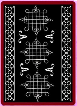 Goth Deck : Back of Card by caeli