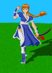 Kasumi-hime by The-Reploidst