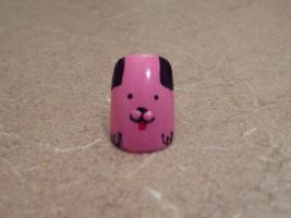 Pink Doggie Nail by CourtHouse