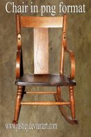 Cutout PNG - Rocking Chair by justiej