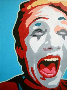 Selfportrait: The Mime by Toewn