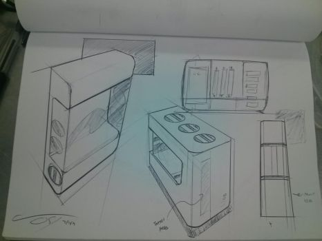 Quick Sketches 7-16-13 by ComplxDesign
