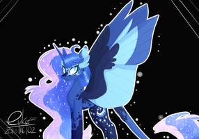 : princess Luna : by Serri765