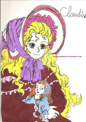 Claudia from Interview with the Vampire manga by VampiresaQueen