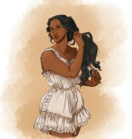 Josephine in Bloomers by captainceranna