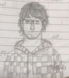 Markiplier Pencil Sketch by IzzyDraws861