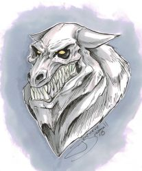 Day 05 Werewolf by JenBroomall