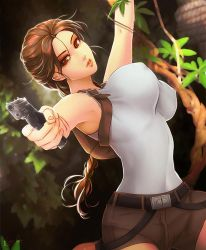 SFW : Tomb Raider by Esther-Shen