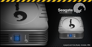 Seagate External HD Icon by sketched-dreams