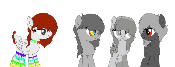 the grey family by Amber2206