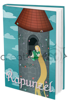 Rapunzel Book Cover by EmersonWolfe