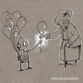 Balloons by KekeIllustrations