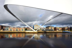 Gateshead Millennium Bridge by StephenJohnSmith