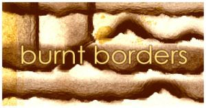 Burnt Borders brushes by dawn-at-the-lake